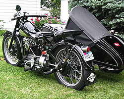 Paul Jensen's Nimbus with ACAP Sidecar